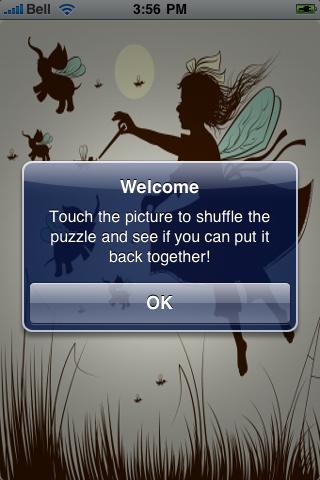 Magic Faeries Slide Puzzle screenshot #2