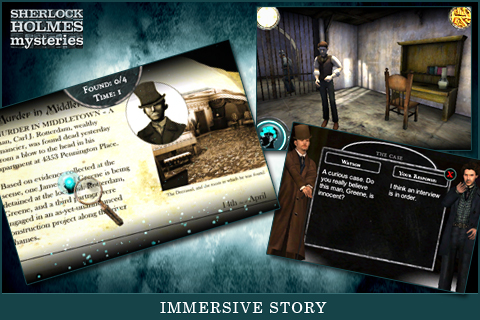 Sherlock Holmes Mysteries screenshot #5