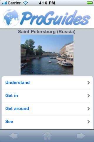 ProGuides - St. Petersburg screenshot #1