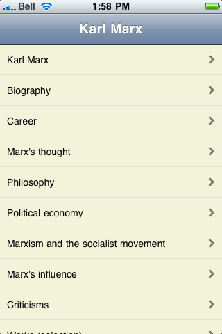 Karl Marx screenshot #1