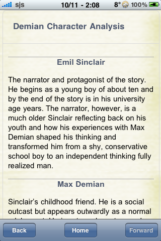 Book Notes - Demian screenshot #2