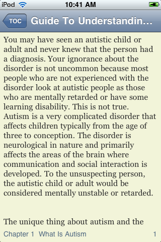 Guide To Understanding Autism screenshot #3