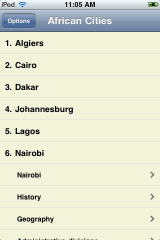 The Big Book of African Cities screenshot #3