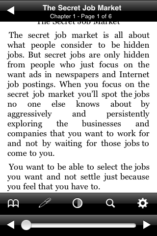 The Secret Job Market screenshot #2