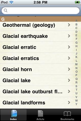 Glaciers Study Guide screenshot #2