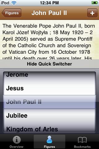 Popes Pocket Book screenshot #3
