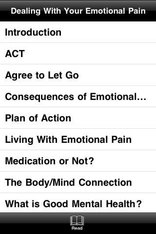 Dealing With Your Emotional Pain screenshot #4