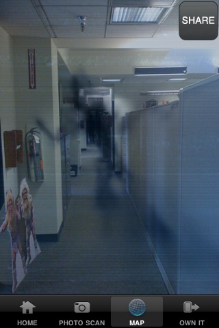 PARANORMAL ACTIVITY LOCATOR screenshot #2