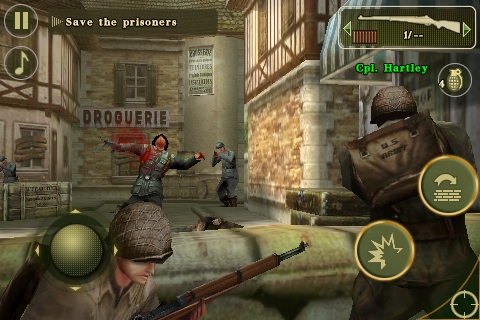 Brothers In Arms® 2: Global Front screenshot #3