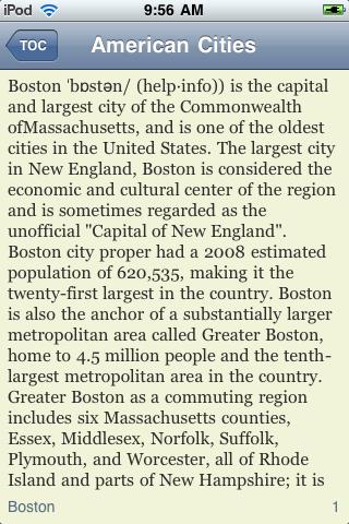 The Big Book of American Cities screenshot #2