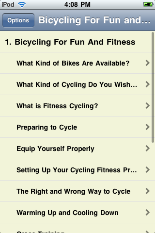 Bicycling For Fun and Fitness screenshot #2