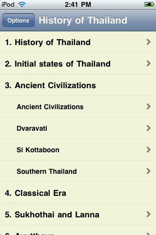 The History of Thailand screenshot #3