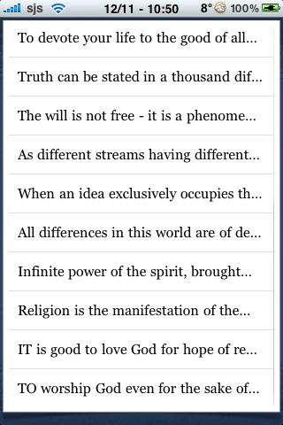 Swami Vivekanada Quotes screenshot #2