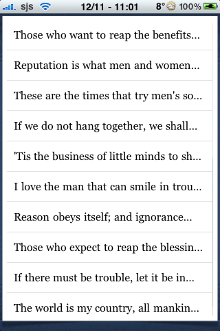 Thomas Paine Quotes screenshot #3