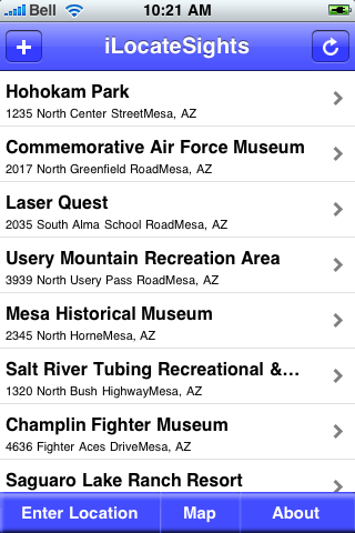 Mesa, Arizona Sights screenshot #2