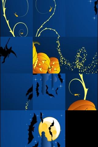 Happy Halloween Slide Puzzle screenshot #2