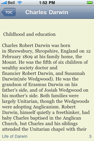 Charles Darwin screenshot #2