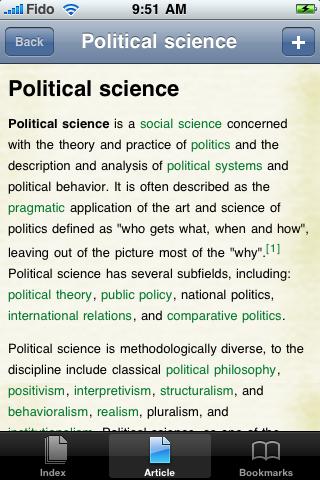 Political Science Study Guide screenshot #1