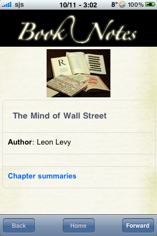 Book Notes - The Mind of Wall Street screenshot #3