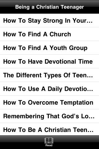 Being a Christian Teenager screenshot #3