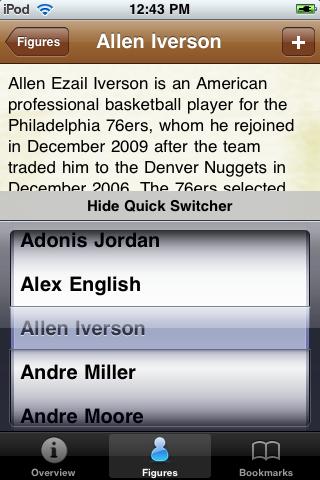 All Time Denver Basketball Roster screenshot #3