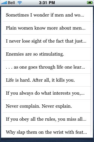 Katharine Hepburn Quotes screenshot #3
