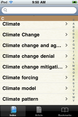 Climate Change Study Guide screenshot #2