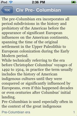 Pre-Columbian Civilization screenshot #2