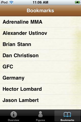 MMA Fighters Pocket Book screenshot #5
