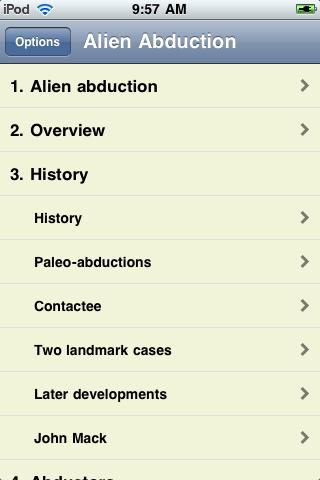 Alien Abduction screenshot #1