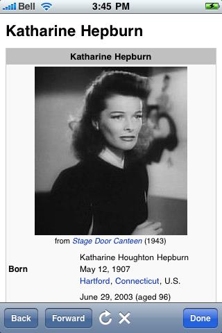 Katharine Hepburn Quotes screenshot #1