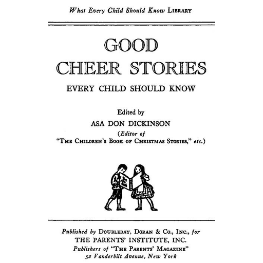 Good Cheer Stories