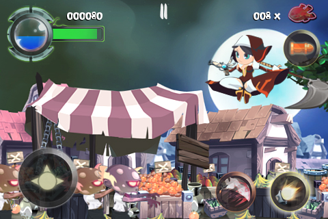 Twin Blades Lite screenshot #1