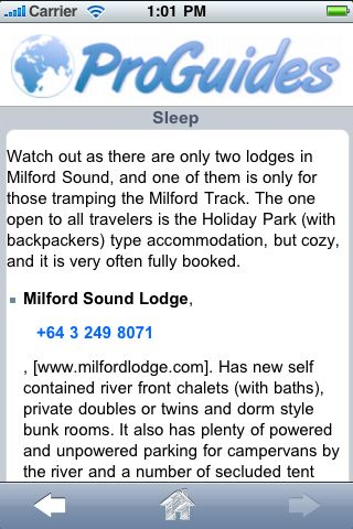 ProGuides - Milford Sound screenshot #2