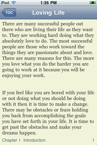 Loving Life screenshot #3