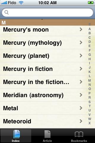 Mercury Study Guide screenshot #2