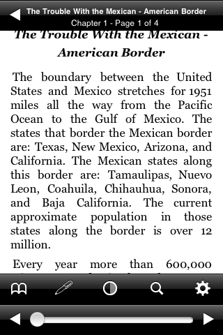 The Trouble With The Mexican – American Border screenshot #2