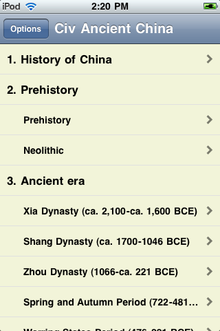 The History of China screenshot #3