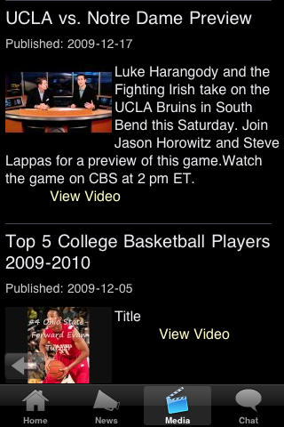 Washington College Basketball Fans screenshot #5