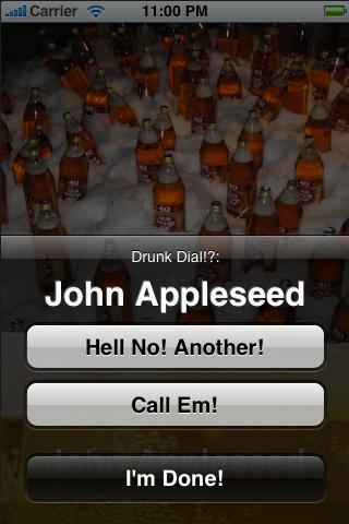 40cozy.com's DrunkDialer screenshot #2
