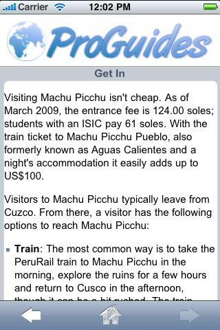 ProGuides - Machu Picchu screenshot #3