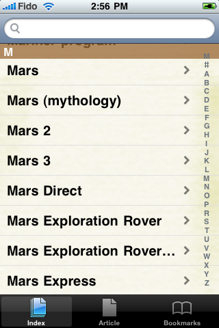 Mars Study Guide screenshot #2