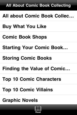 All About Comic Book Collecting screenshot #3