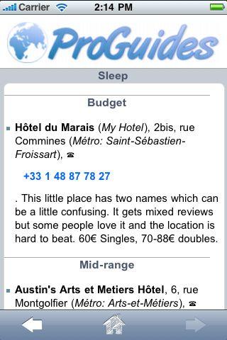 ProGuides - Paris screenshot #2