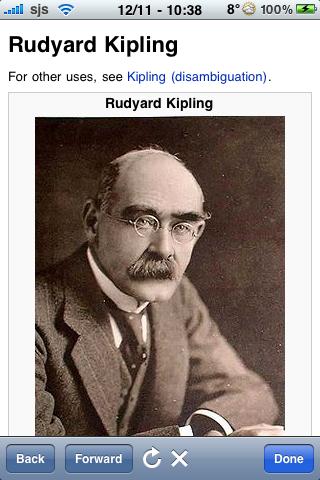 Rudyard Kipling Quotes screenshot #1
