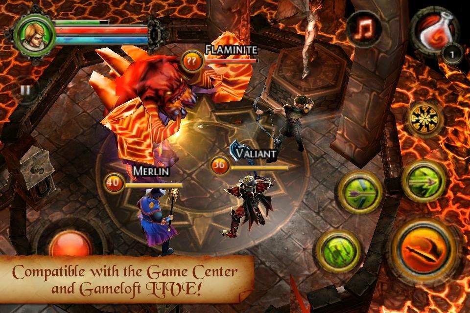 Dungeon Hunter 2 FREE screenshot #1