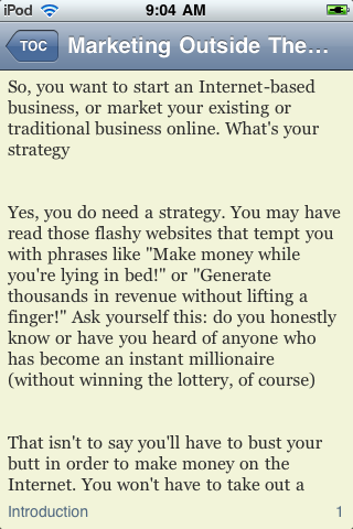 Marketing Outside The Box screenshot #3