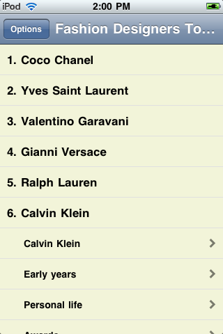 The Top Fashion Designers of All Time screenshot #1