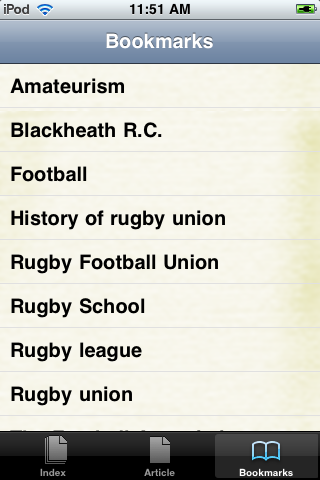 History of Rugby Union Study Guide screenshot #3