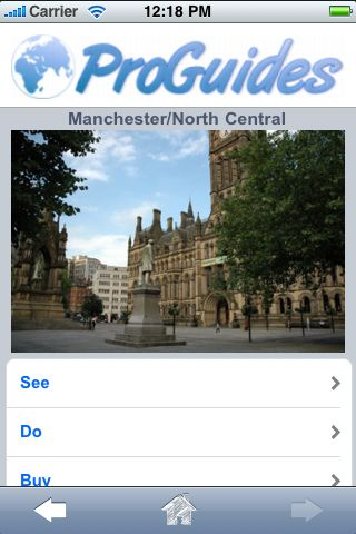 ProGuides - Manchester screenshot #1
